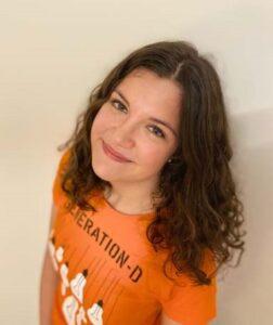 Luise Schuller von Generation-D, Studentischer Gründungswettbewerb